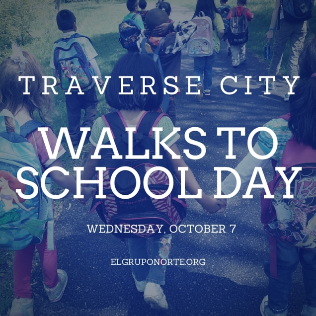 walks to school day