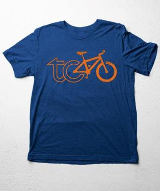 bike tc T blue