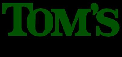 Tom's Logo New Green